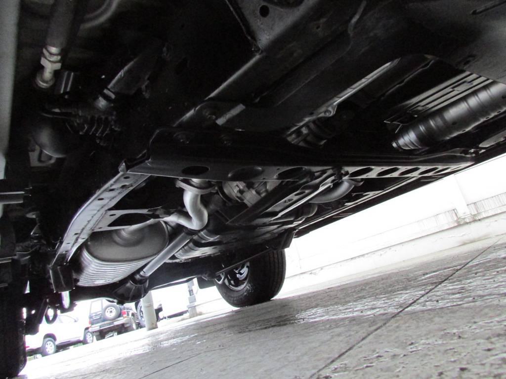 下廻りは高圧洗浄後パスター塗装仕上げ! | トヨタ ランドクルーザー100 4.7 VXリミテッド 4WD Gセレクション