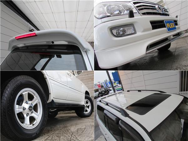 リアスポイラーも新品インストールしました! | トヨタ ランドクルーザー100 4.7 VXリミテッド 4WD Gセレクション