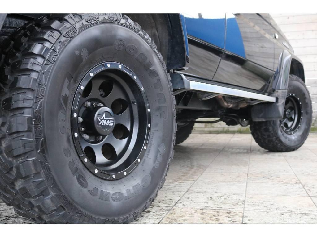 ボディーとホイールの相性もGOOD♪ | トヨタ ランドクルーザープラド 3.0 SXワイド ディーゼルターボ 4WD