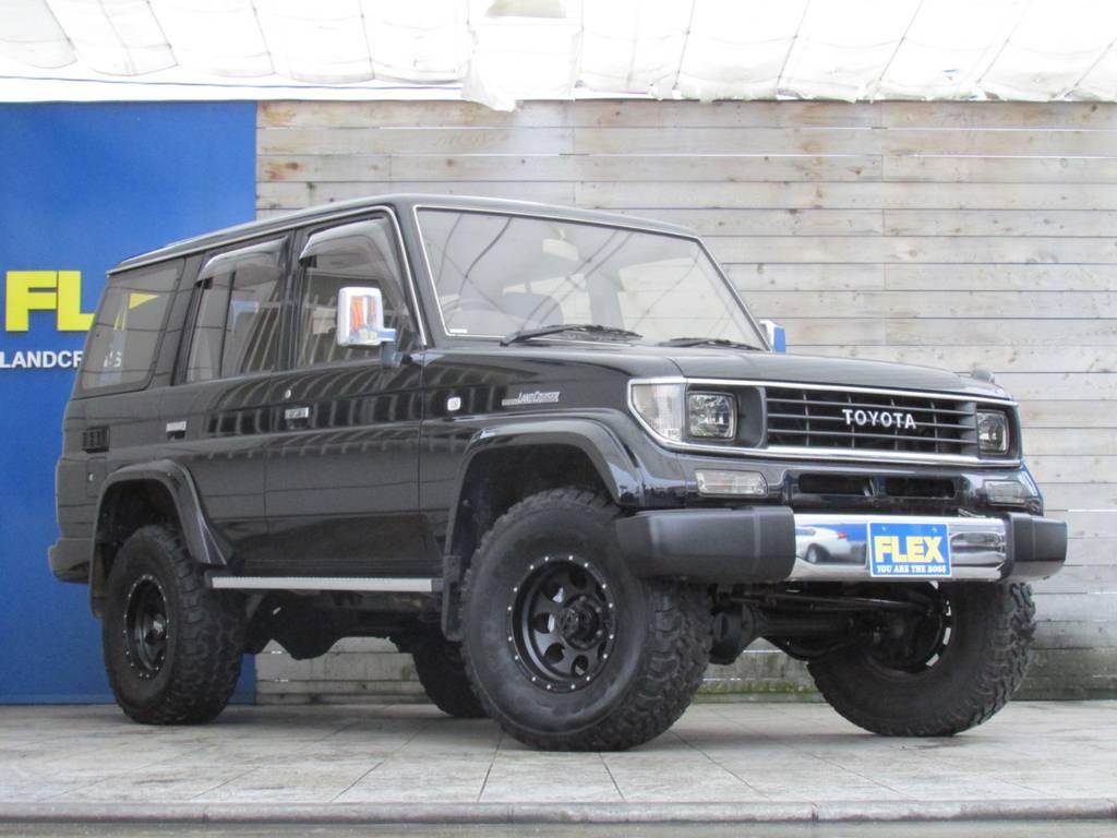 ディーゼルターボで走りも爽快♪ | トヨタ ランドクルーザープラド 3.0 SXワイド ディーゼルターボ 4WD