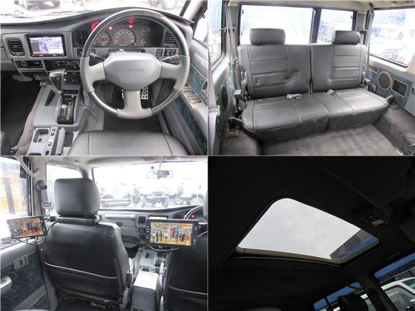 ウッドコンビハンドル、ウッドシフトノブ、リアモニターまでもインストール済み♪ | トヨタ ランドクルーザープラド 3.0 SXワイド ディーゼルターボ 4WD