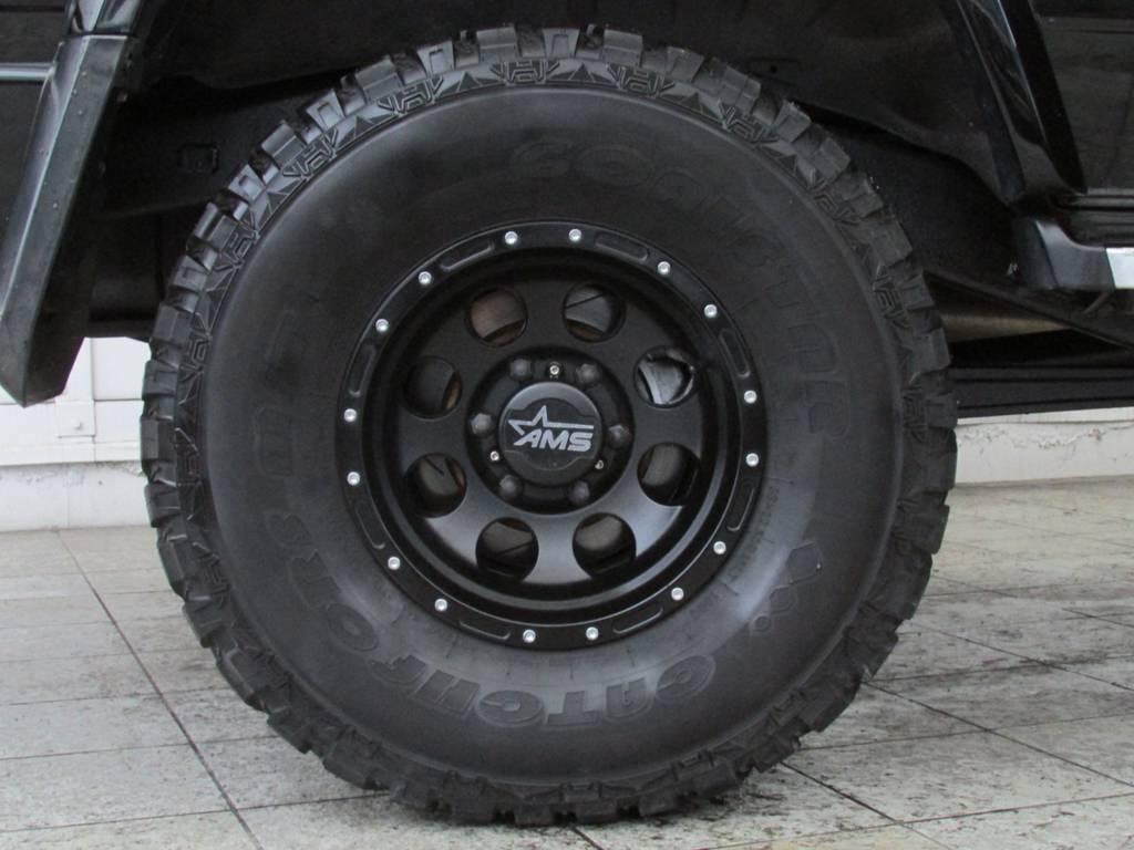 AMS15インチアルミホイール! | トヨタ ランドクルーザープラド 3.0 SXワイド ディーゼルターボ 4WD
