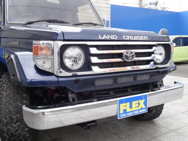 後期LOOKフェイスに換装済み! | トヨタ ランドクルーザー70 4.2 ZX ディーゼル 4WD