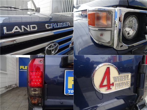 細かいところまでカスタマイズ! | トヨタ ランドクルーザー70 4.2 ZX ディーゼル 4WD