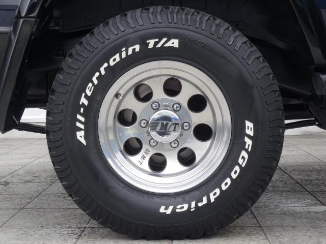 ミッキートンプソン15インチAWにBFグッドリッチATタイヤの組み合わせ! | トヨタ ランドクルーザー70 4.2 ZX ディーゼル 4WD