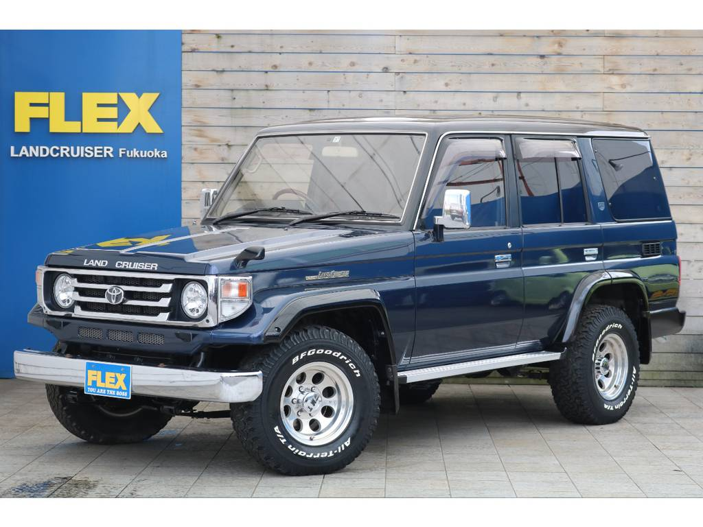 ランクル77最上級グレードZXが入庫致しました! | トヨタ ランドクルーザー70 4.2 ZX ディーゼル 4WD