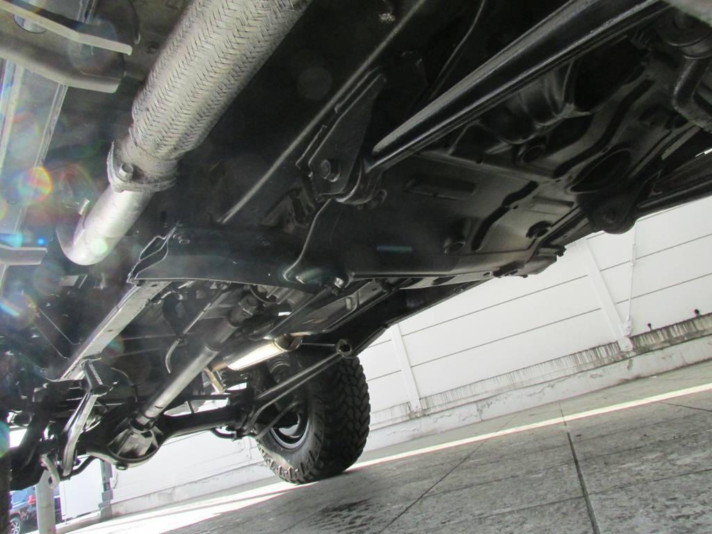 下廻りは高圧洗浄後パスター塗装仕上げ! | トヨタ ランドクルーザープラド 3.0 SXワイド ディーゼルターボ 4WD リフトアップ