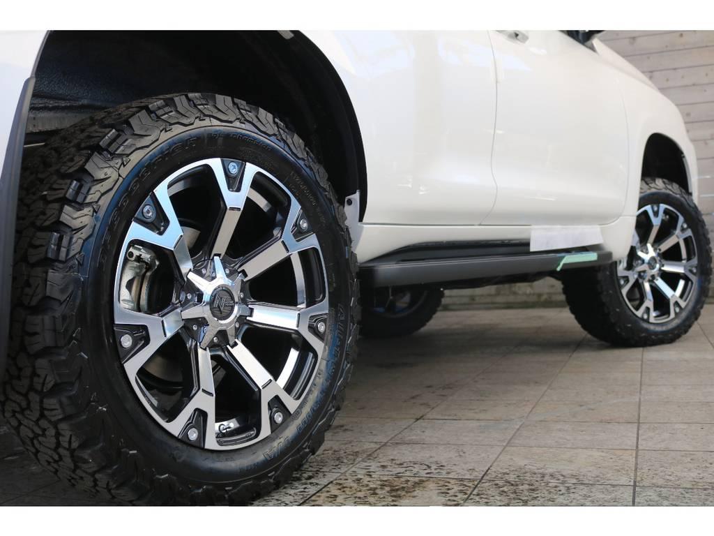 ボディーとホイールの相性もGOOD! | トヨタ ランドクルーザープラド 2.8 TX ディーゼルターボ 4WD 新車コンプリート