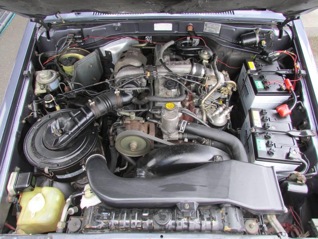 ランクル70系唯一のディーゼルターボエンジン!