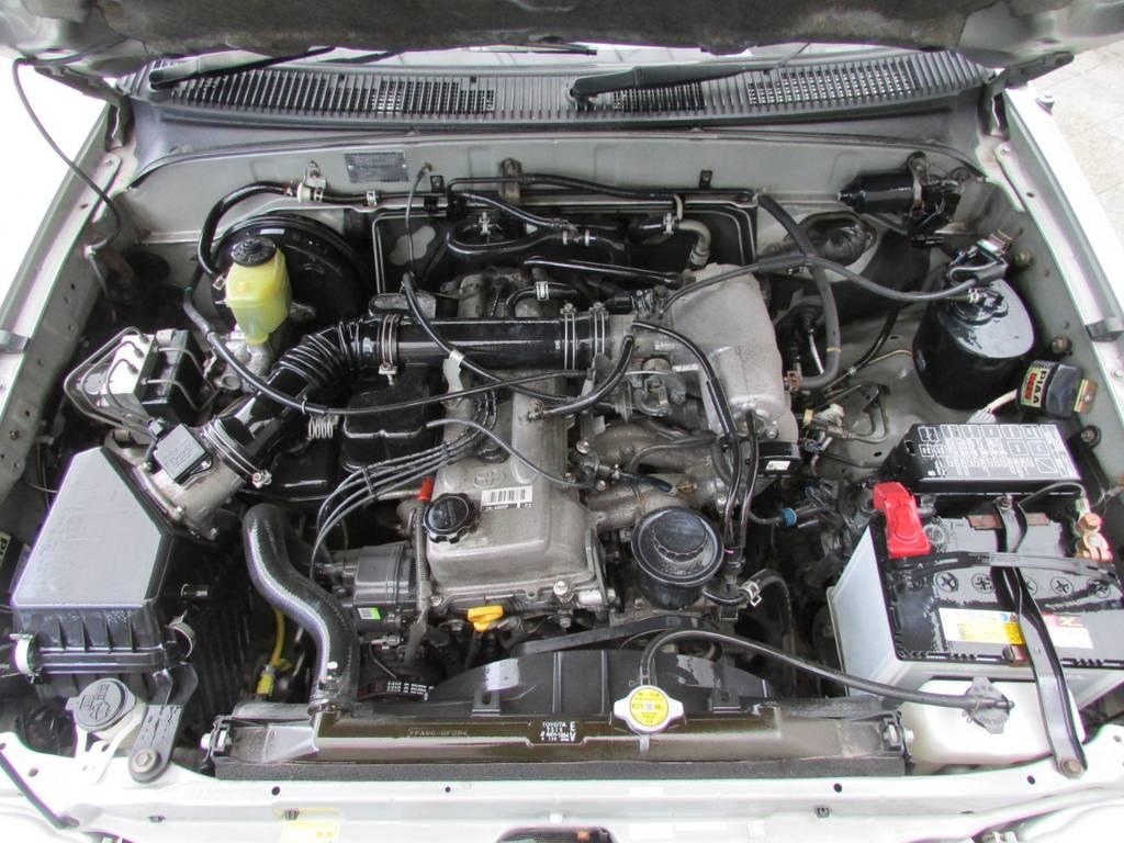走行距離も11万キロ台ですのでまだまだ元気に走りますよ~♪ | トヨタ ハイラックスサーフ 2.7 SSR-G 4WD サンルーフ