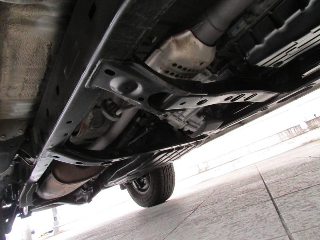 下廻りはパスター塗装仕上げ! | トヨタ ハイラックスサーフ 2.7 SSR-G 4WD サンルーフ