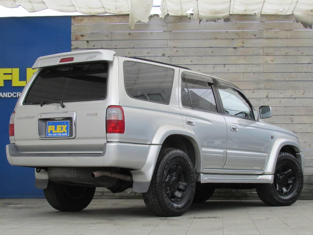ここからの追加カスタムもお任せください! | トヨタ ハイラックスサーフ 2.7 SSR-G 4WD サンルーフ