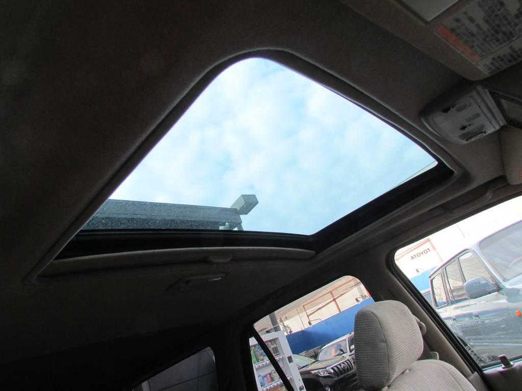 嬉しいサンルーフ付き! | トヨタ ハイラックスサーフ 2.7 SSR-G 4WD サンルーフ