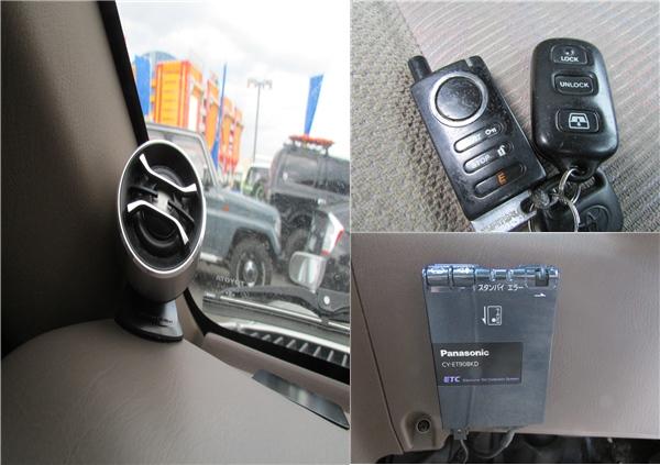 エンジンスターターやトゥイーター、ETCも装備済み! | トヨタ ハイラックスサーフ 2.7 SSR-G 4WD サンルーフ