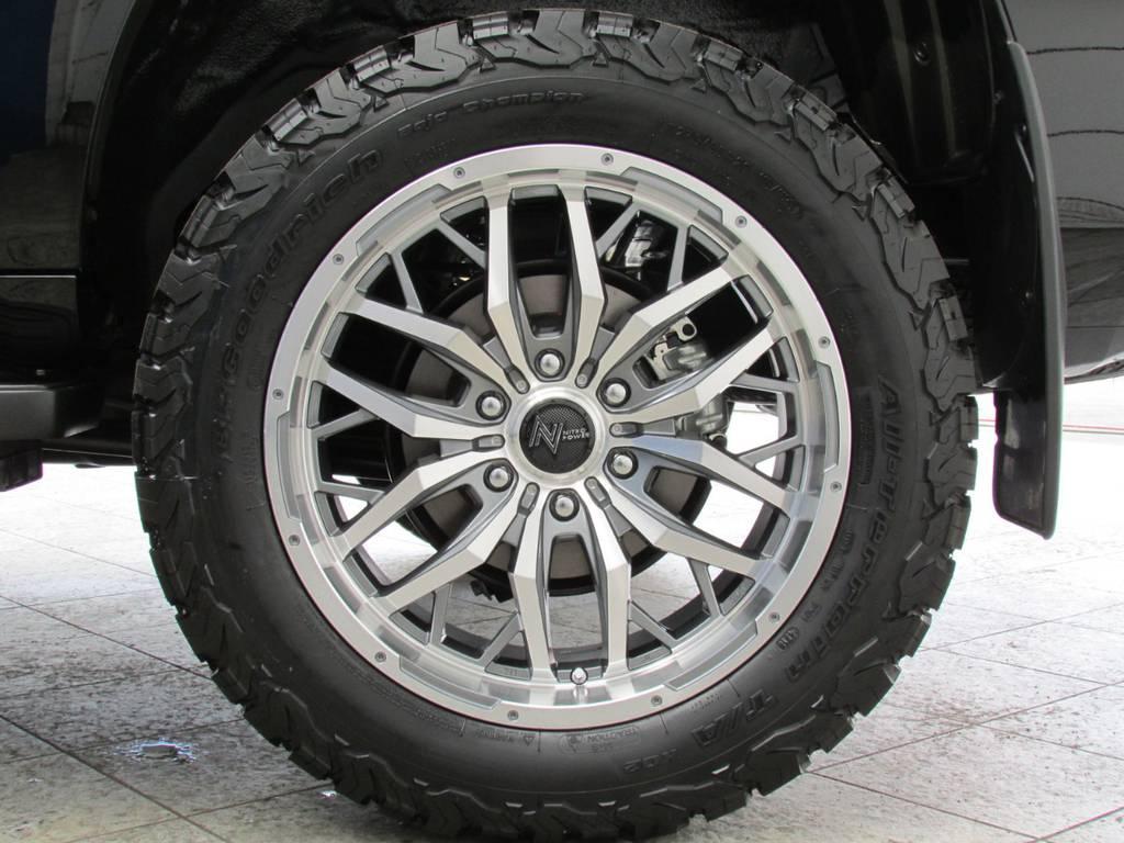 新品ナイトロパワー20インチAWに新品BFグッドリッチATタイヤの組み合わせ!