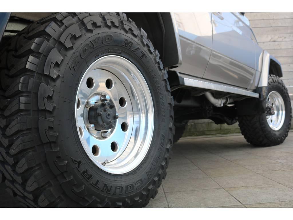 安心の保証もご用意しております! | トヨタ ランドクルーザー70 4.2 ZX ディーゼル 4WD リフトアップ