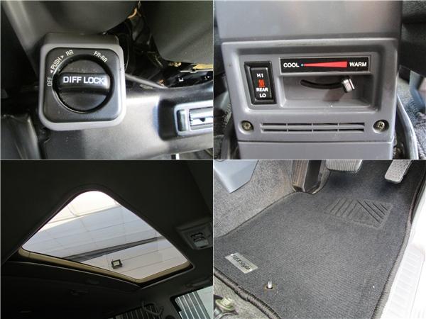 デフロック、サンルーフ、寒冷地仕様など装備も充実! | トヨタ ランドクルーザー70 4.2 ZX ディーゼル 4WD リフトアップ