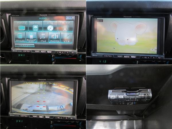 フルセグナビにバックカメラETCも装備済み! | トヨタ ランドクルーザー70 4.2 ZX ディーゼル 4WD リフトアップ