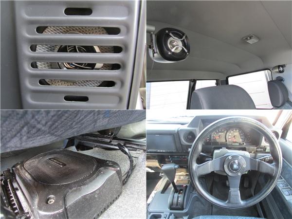 音響もバッチリです! | トヨタ ランドクルーザー70 4.2 ZX ディーゼル 4WD リフトアップ