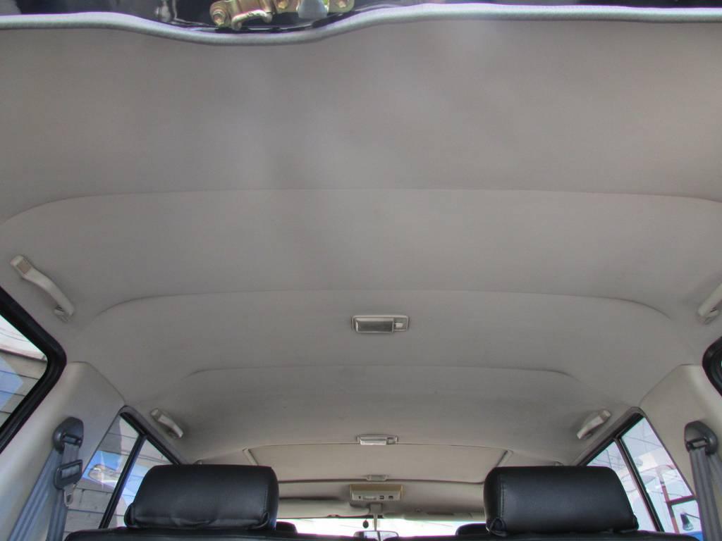 天張りもルームクリーニング済み! | トヨタ ランドクルーザープラド 3.0 EXワイド ディーゼルターボ 4WD フルカスタム