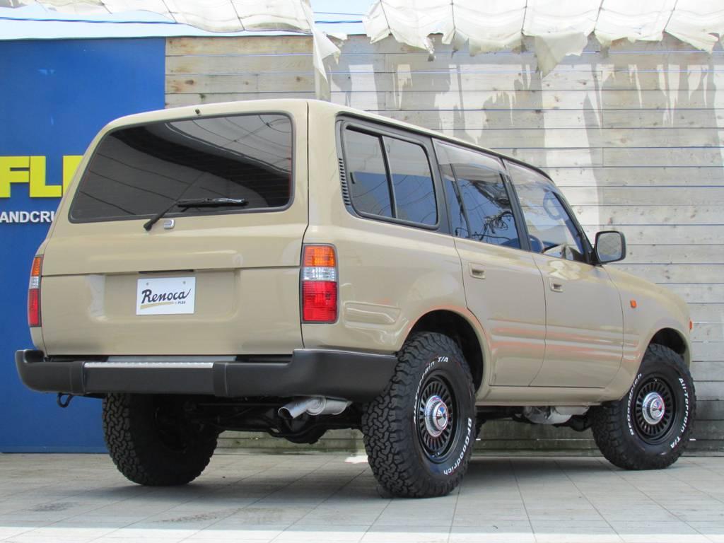 ここからの追加カスタムもお任せください! | トヨタ ランドクルーザー80 4.5 VXリミテッド 4WD LC60フェイス換装