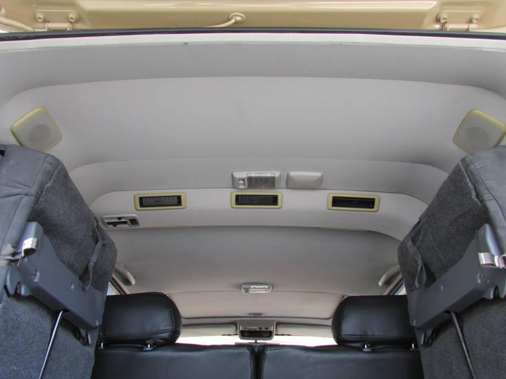 天張りもルームクリーニング済み! | トヨタ ランドクルーザー80 4.5 VXリミテッド 4WD LC60フェイス換装