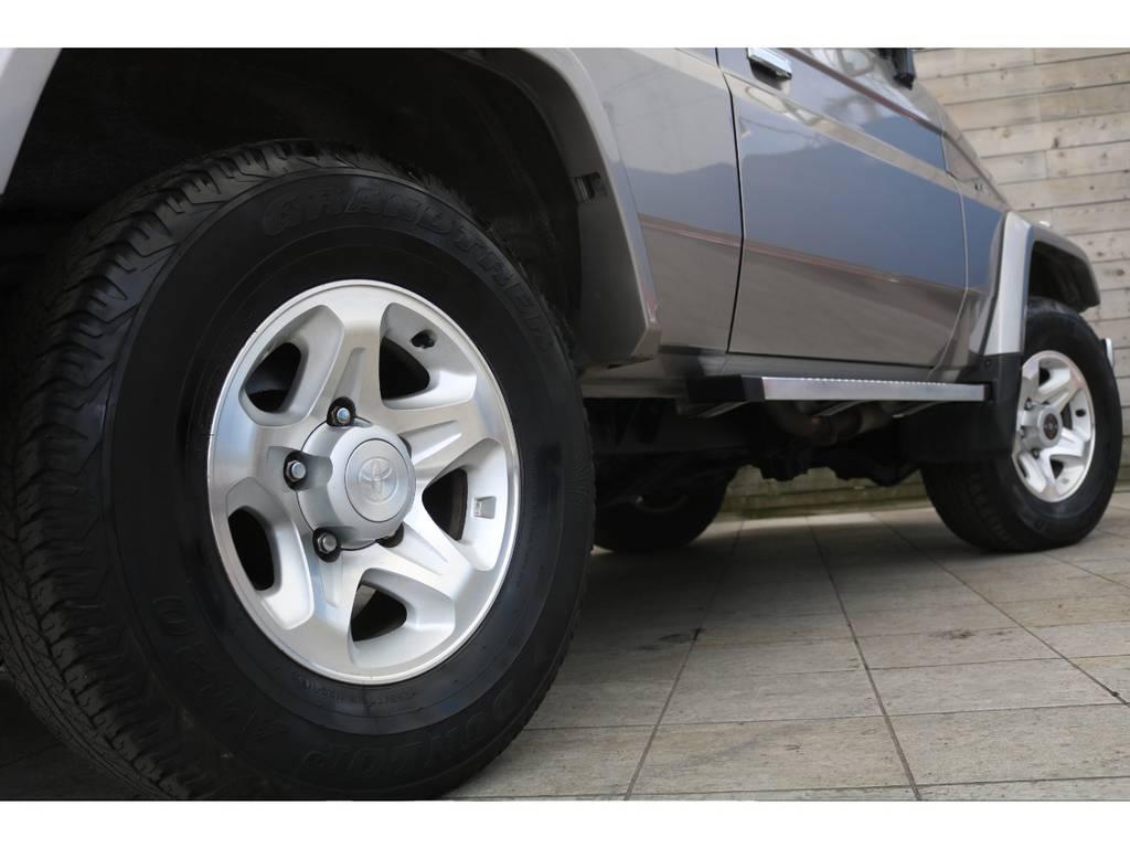 安心の保証もご準備しております! | トヨタ ランドクルーザー70 4.2 ZX ディーゼル 4WD FRPトップ