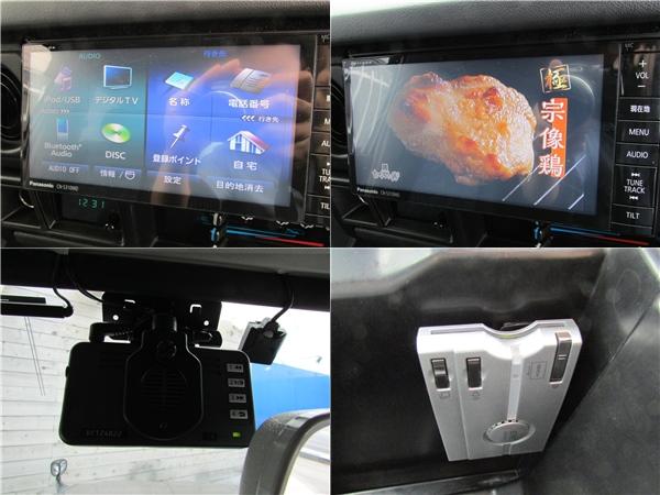 フルセグナビ、ETC、ドライブレコーダーもインストール済み! | トヨタ ランドクルーザー70 4.2 ZX ディーゼル 4WD FRPトップ