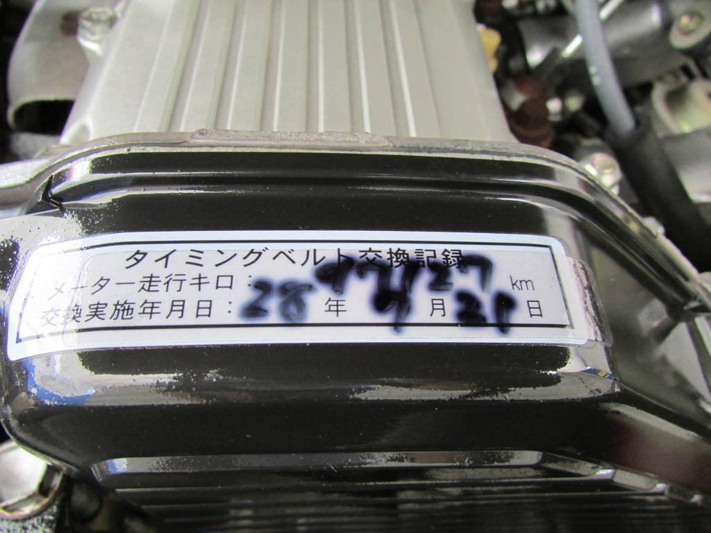 タイミングベルトも交換済み! | トヨタ ランドクルーザー70 4.2 ZX ディーゼル 4WD FRPトップ