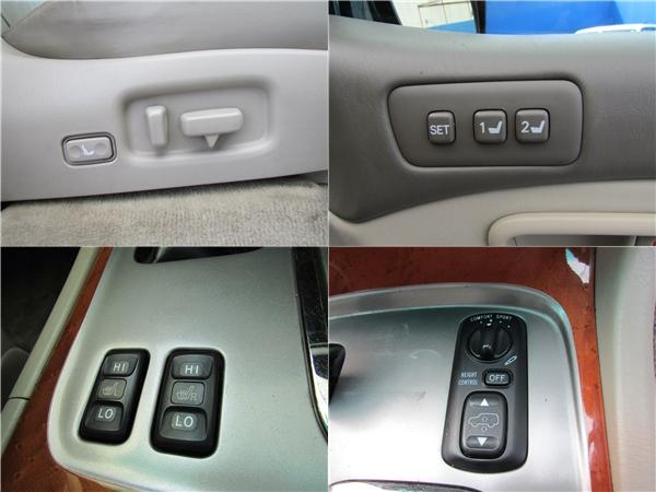 メモリー付き本革パワーシート、アクティブハイトコントロール、シートヒータは全て標準装備です! | トヨタ ランドクルーザーシグナス 4.7 4WD プレミアムエディション