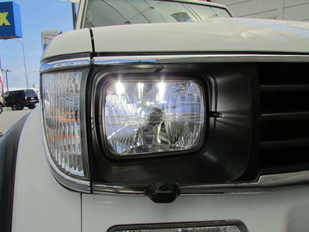 LEDヘッドライト!