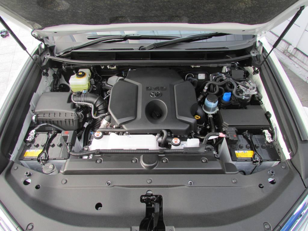 2800ccクリーンディーゼルエンジン!