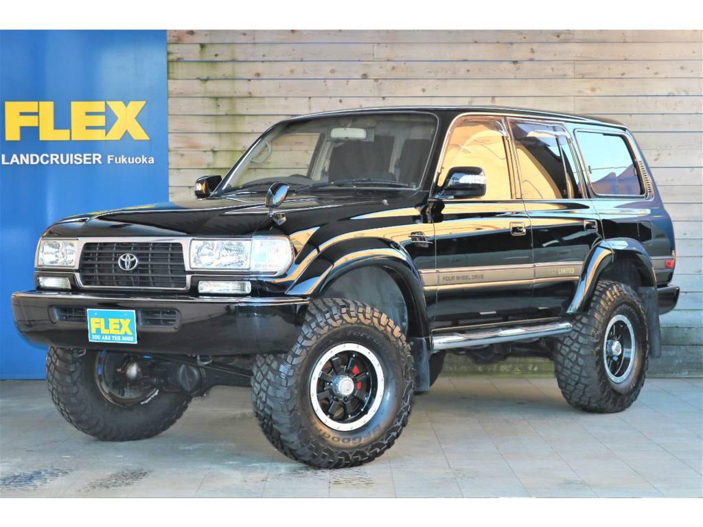 ランクル80VX-LTDガソリン車が低走行11万キロで入庫致しました!