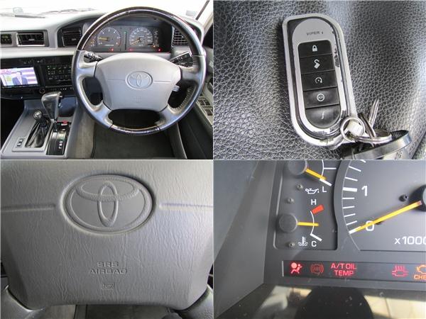 バイパーセキュリティー、ABS、運転席エアーバッグ、ウッドコンビハンドル&ウッドシフトもインストール済み!