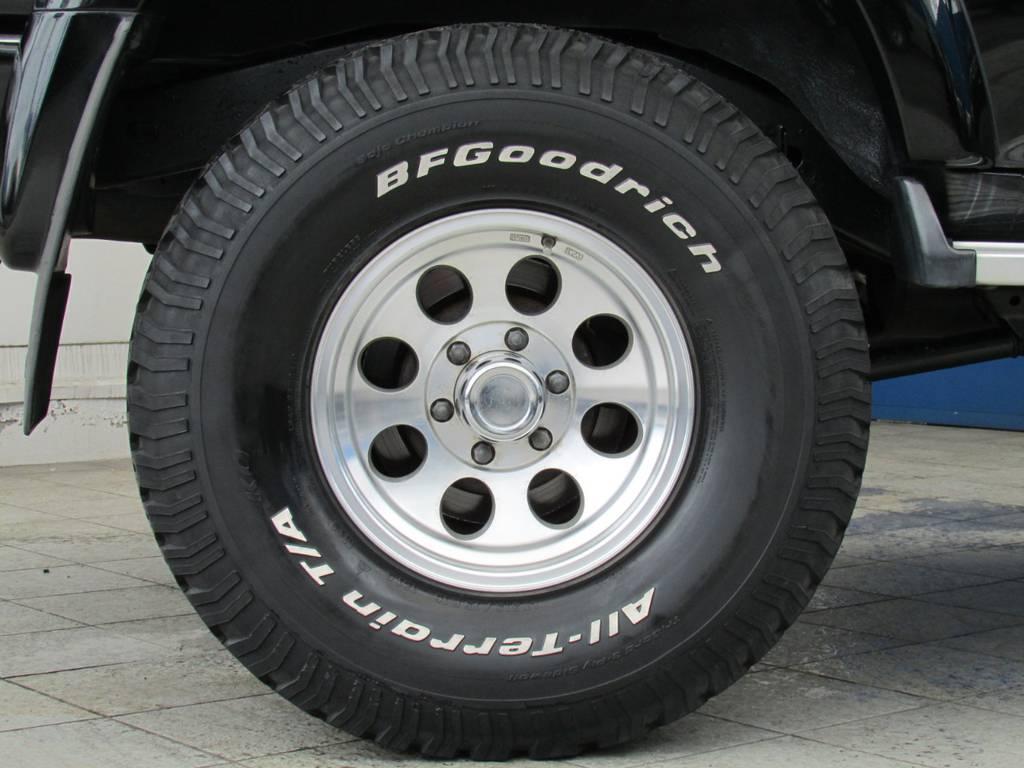 ジムライン16インチAWにBFグッドリッチATタイヤの組み合わせ!