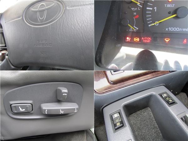 オプションの運転席エアーバッグにABS、シートヒーター、本革パワーシートが装備!