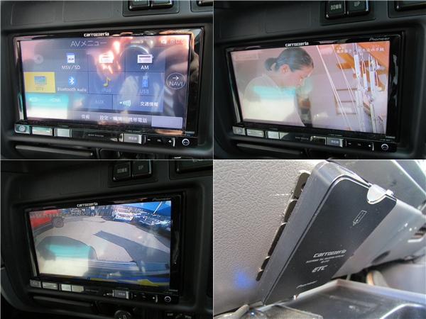 フルセグナビ&バックカメラ&ETCも装備!