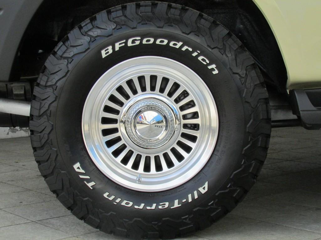 新品DEANカリフォルニア16インチAWに新品BFグッドリッチATタイヤ!