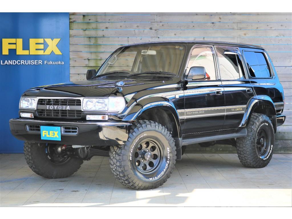 ランクル80ガソリン車が人気の黒で入庫致しました!