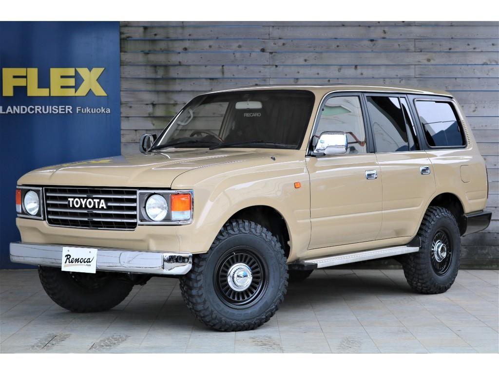 ランクル80最終型ガソリン車、低走行8万キロ台をベースに大人気Renoca86を作り上げました!