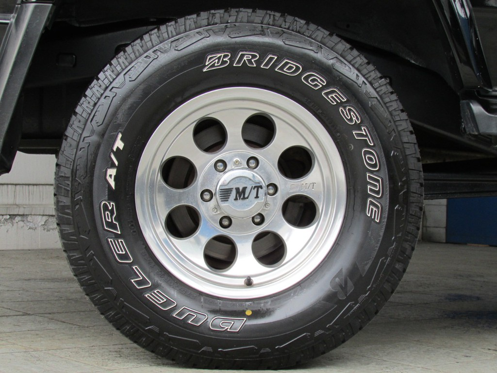 ミッキートンプソンクラシックⅢ16インチAWにブリジストンATタイヤの組み合わせ!