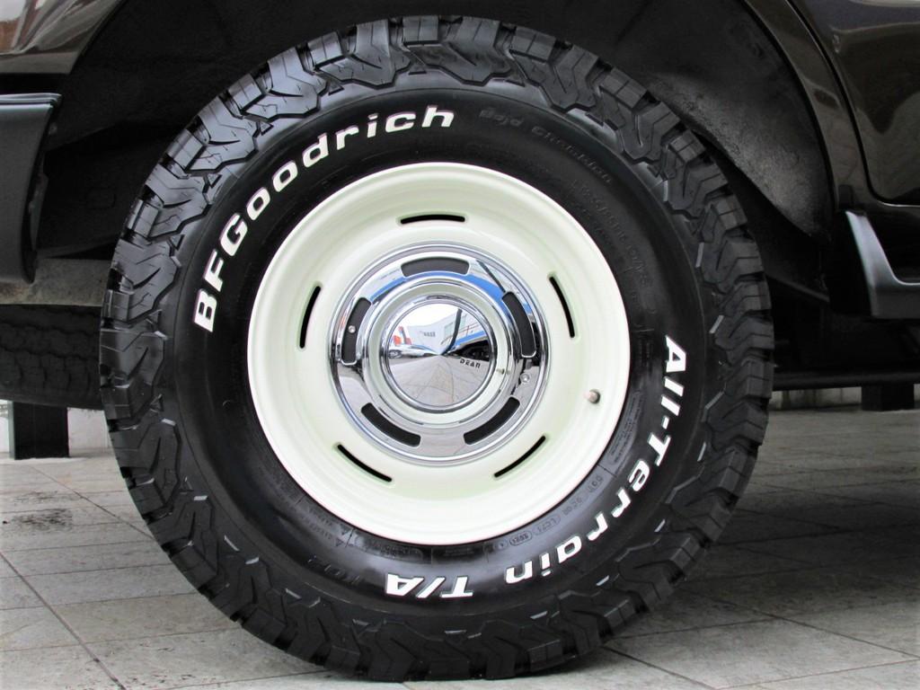 新品DEANクロスカントリー16インチアルミに新品BFグッドリッチATタイヤの組み合わせ!