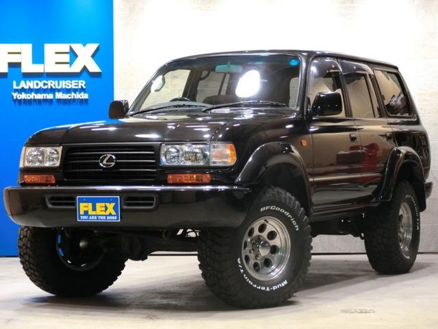 ランドクルーザー804.5 VXリミテッド 4WD ランクル80 VX-LTD 4500【ブラックパールペイント】【新品3UP】【クラシックⅡ16インチAW/新品BFG315MT】