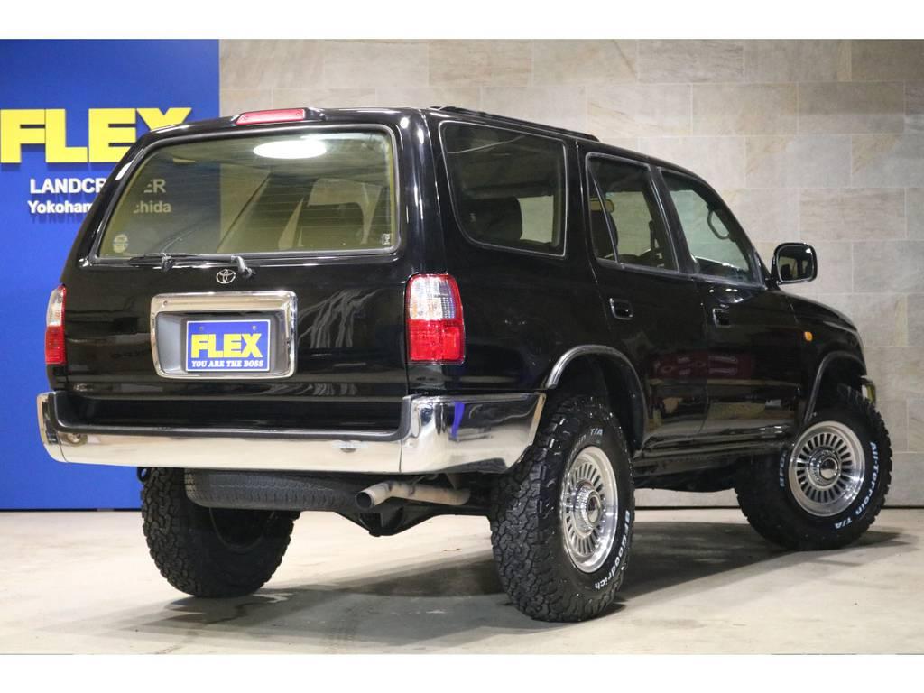新品DEAN16インチAW&BFG235ATタイヤ!新品4ランナー用フェンダーモール!新品黒レザー調シートカバー! | トヨタ ハイラックスサーフ 2.7 SSR-X Vセレクション 4WD