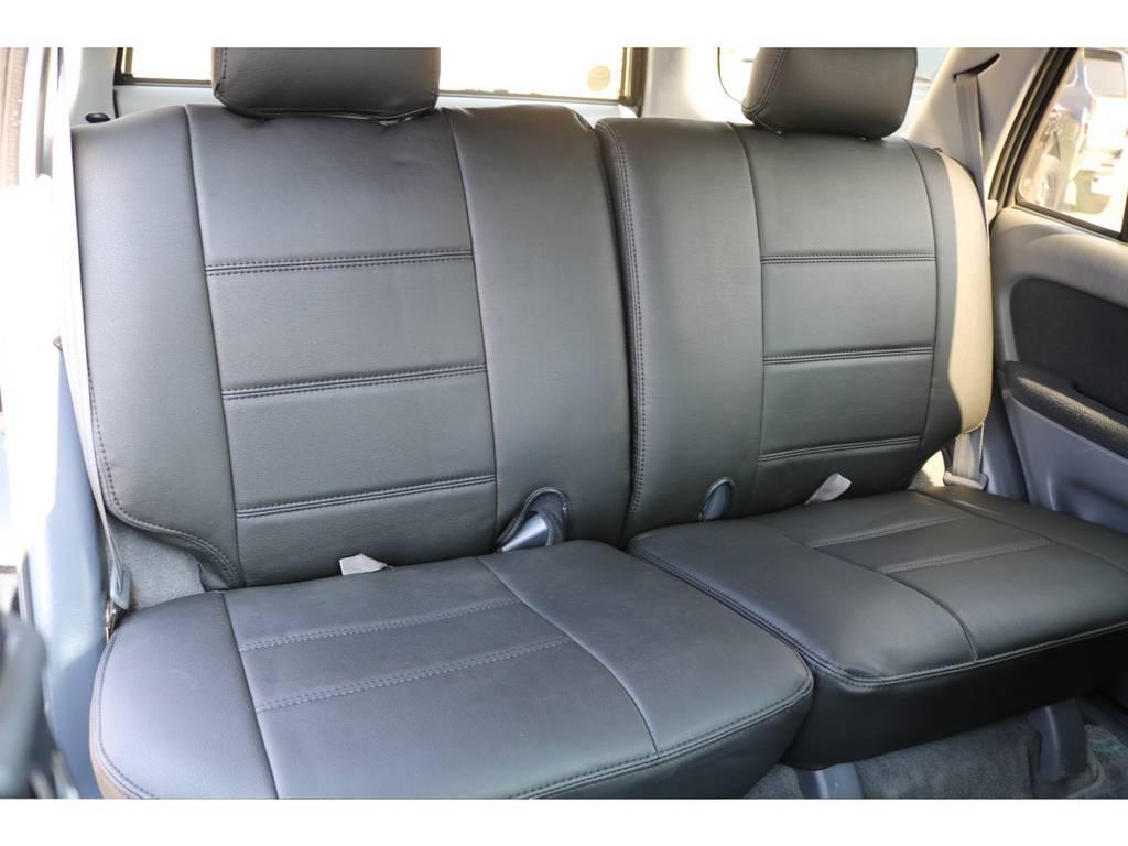 セカンドシートもご覧の通りです! | トヨタ ハイラックスサーフ 2.7 SSR-X Vセレクション 4WD