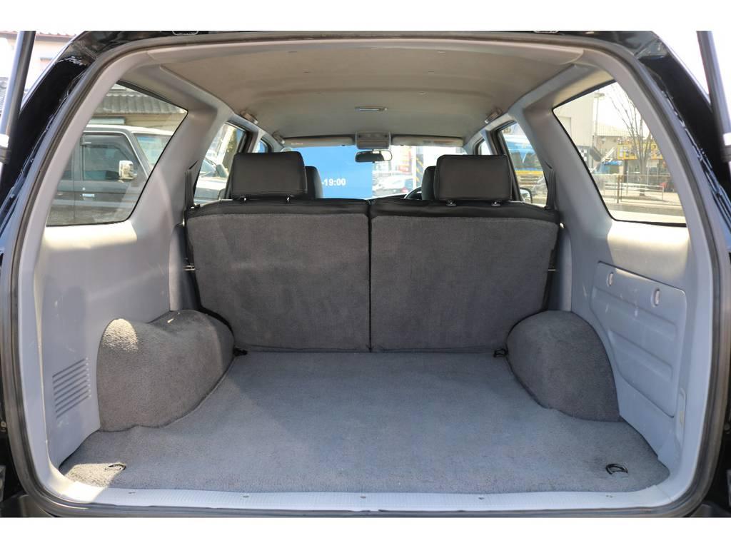サーフの特徴の一つ、広大なラゲッジスペース! | トヨタ ハイラックスサーフ 2.7 SSR-X Vセレクション 4WD