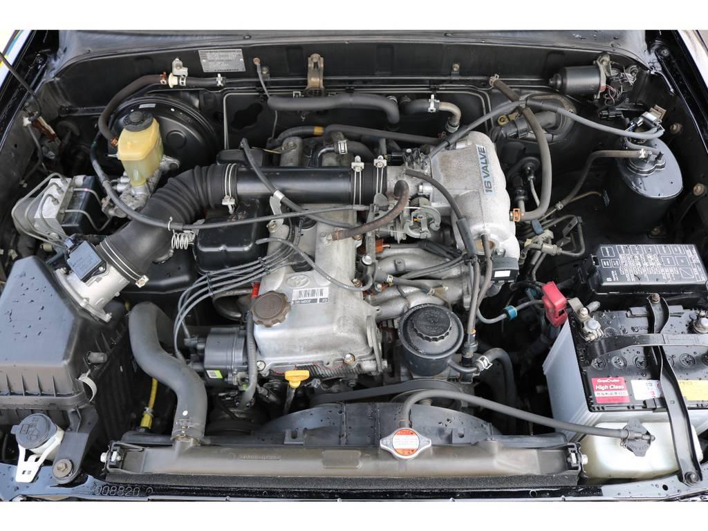 経済性に優れた2700ccエンジン!タイミングチェーン式で、10万キロ時の交換も不要です! | トヨタ ハイラックスサーフ 2.7 SSR-X Vセレクション 4WD
