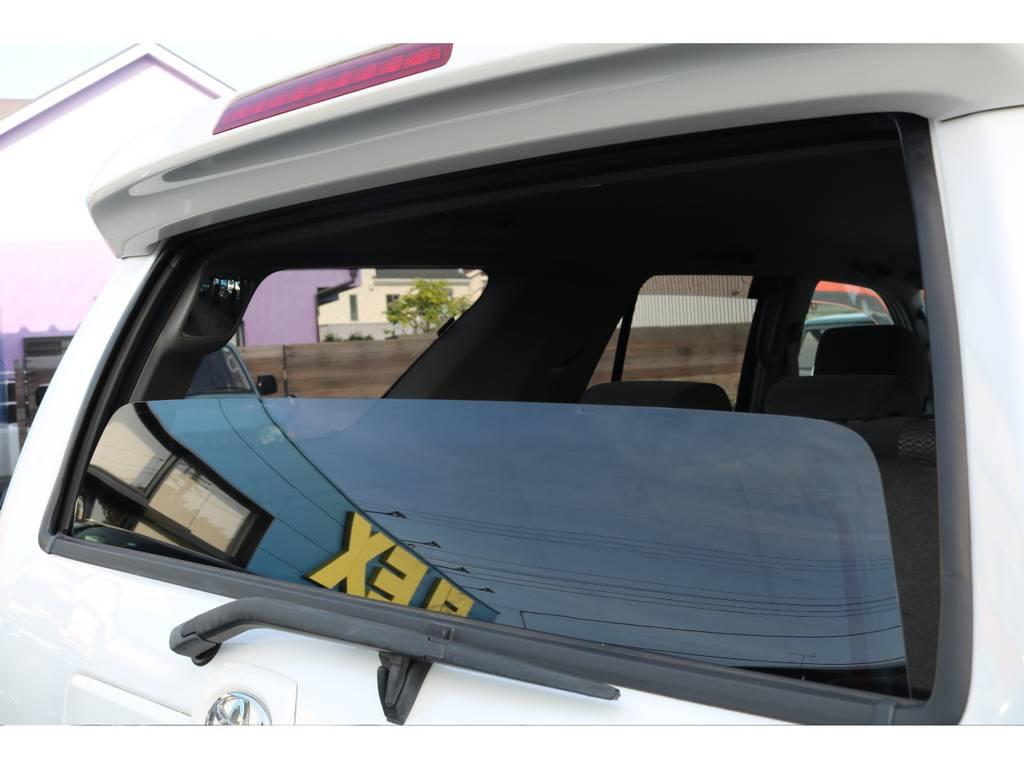 ハイラックスサーフの特徴のリアゲートのウインドウが開閉します! | トヨタ ハイラックスサーフ 2.7 SSR-X リミテッド 4WD