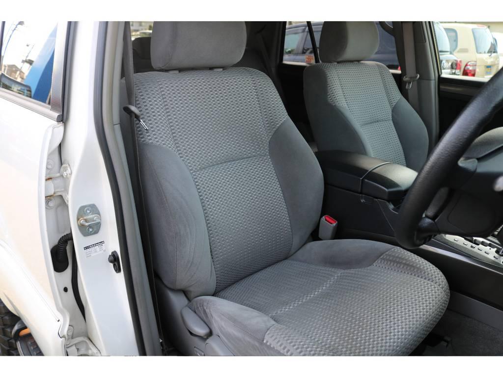 ご覧の通りキレイなシートコンディション!気持ち良くお乗り頂けます! | トヨタ ハイラックスサーフ 2.7 SSR-X リミテッド 4WD