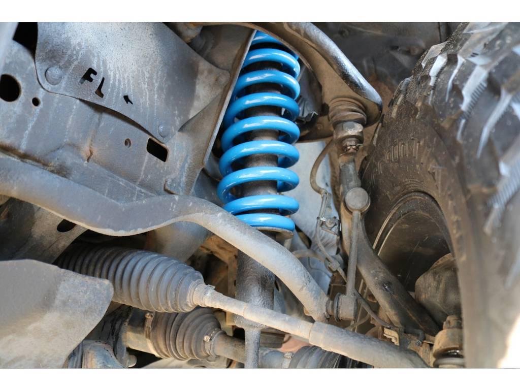 当店にて2インチリフトアップを新品にて施工致しました! | トヨタ FJクルーザー 4.0 カラーパッケージ 4WD